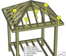 12x12 hip roof pavilion plans 25 photo of 12x12 square gazebo plans