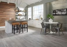 faux wood tile in kitchen faux wood tiles contemporary kitchen interior faux wood