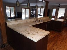 formica river gold reviews gallery leo s kitchens