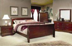 juegos de recamaras recamara moderna cama 6 piezas louis phillipe cherry buditasan shop refrigeradores