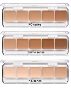 rcma foundation palette rcma 5 part foundation palette dtc makeup