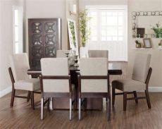 comedor san francisco con 6 sillas 3479733 coppel - Coppel Comedores Redondos
