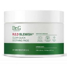 dr g blemish clear soothing pads 130ml 70 pad moisture calm pack ebay - Dr G Red Blemish Oule