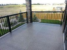 pvc deck covering vinyl decks waterproof solutions by nate s sundecks spruce grove alberta
