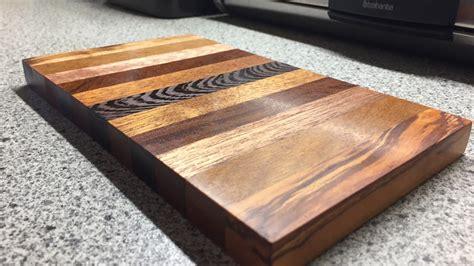 cutting board schneidbrett diy youtube