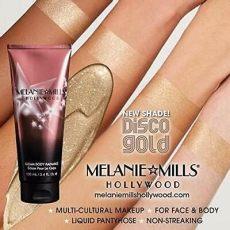 melanie mills gleam body radiance melanie mills gleam radiance makeup bronzer disco gold ebay