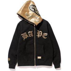black and gold bape sweater bape golden hoodie blvcks culture best prices