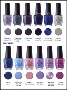 opi california dreaming collection swatches review 2017 nails nails nails opi nails - Opi Blue Nail Polish Swatches