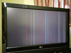 como reparar una pantalla led con rayas verticales lg 32lc56 imagen con sonido pero con rayas verticales yoreparo