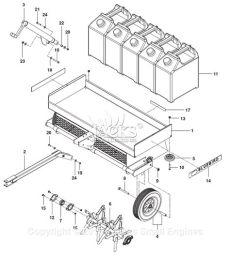 bluebird aerator parts bluebird ta10 2010 04 parts diagram for assembly