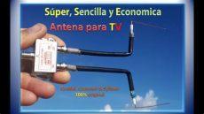 entrada de antena rf sencilla y economica antena para tv coaxial conector splitter original