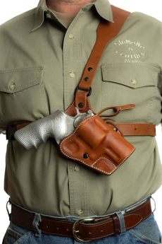 ruger alaskan chest holster pin on outdoor
