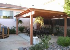 wood patio cover plans free how to build a freestanding patio cover with best 10 sles ideas archlux net