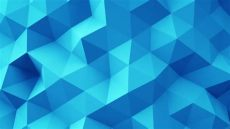 geometric shapes blue wallpaper stock clip of blue polygonal geometric surface computer generated seamless