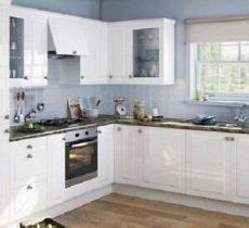 hygena kitchen cabinet doors simply hygena gloss white elverson kitchen wall cabinet unit 1000mm doors 100 5013669643674 ebay