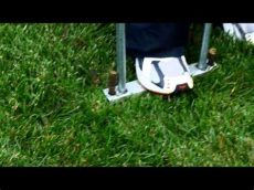 ez core manual lawn aerator ez manual lawn aerator