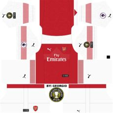 dls 18 kit arsenal arsenal fc 2019 2020 kit logo league soccer