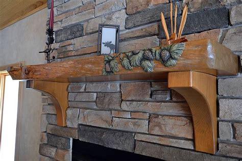 7 gorgeous unique wood fireplace mantels images