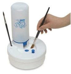 automatic paint brush cleaner masterson fresh water rinse well automatic refill artist paint brush cleaner ebay
