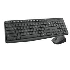 teclado y raton inalambrico logitech teclado y rat 243 n inal 225 mbrico logitech mk235 las mejores ofertas de carrefour