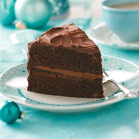 chocolate layered cake recipe taste home
