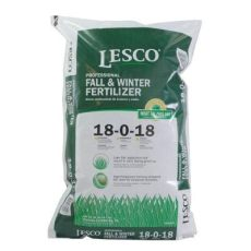 lesco 50 lb 12 000 sq ft fertilizer 18 0 18 fall and winter 080545 the home depot - Lesco Fall Winter Fertilizer