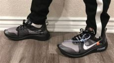 nike off white zoom fly black silver white nike zoom fly black silver on sizing