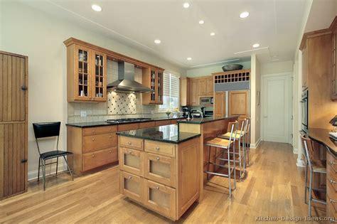 light wood kitchens light colors granite countertops kitchen
