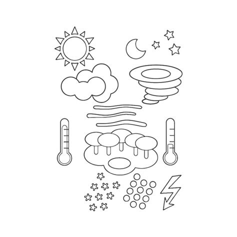weather coloring pages getcoloringpages