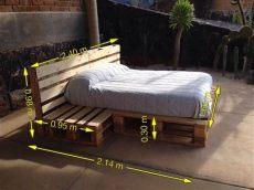 cama matrimonial es queen o full cama size y matrimonial de madera reciclada 6 500 00 en mercado libre