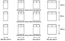 colchon matrimonial dimensiones tama 241 os de camas y colchones en espa 241 a todas sus dimensiones y medidas medidas de cama