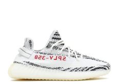 yeezy boost 350 v2 quot zebra quot adidas cp9654 white cblack flight club - Adidas Yeezy Boost 350 V2 Zebra Woman