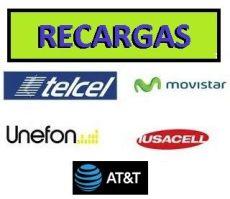 recarga electronica att venta de recargas de tiempo aire celular 500 00 500 00 en mercado libre