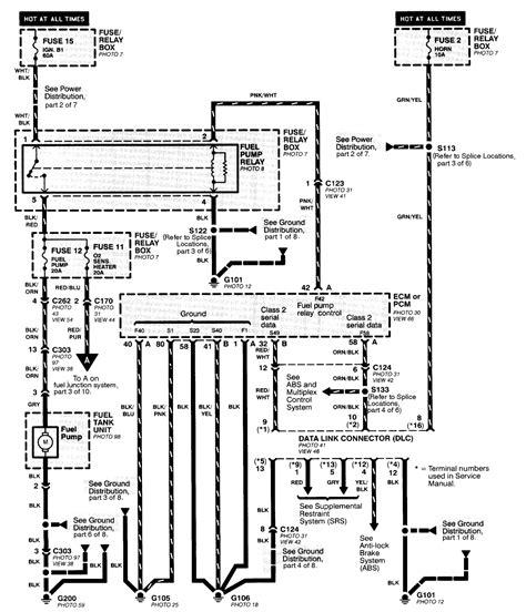 1997 honda accord power window wiring diagram data
