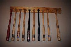 mini baseball bat rack display quahetus mini baseball bat holder