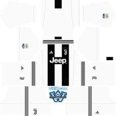 juventus kit 201819 dls juventus 2018 2019 league soccer dls fts 18 forma kits ve logo wid10 league