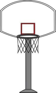canasta de basquetbol dibujo png library of canasta de baloncesto banner library library png files clipart 2019