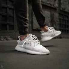 yeezy white cream outfit on mens designer shoes sneakers fashion yeezy