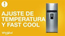 como nivelar un refrigerador whirlpool refrigeradores whirlpool de temperatura y fast cool 18 p 179