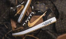 these louis vuitton white x nike air 1s are next level - Nike Air Jordan 1 X Louis Vuitton X Off White