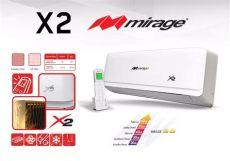 precio de minisplit mirage 1 tonelada minisplit mirage x2 1 tonelada f c 6 160 00 en mercado libre
