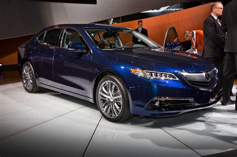2015 acura tlx officially debut york automobile magazine