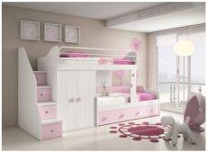 cama tipo litera para ni 241 a shared bedroom kid room decor bedroom design - Recamaras De Ninas Literas