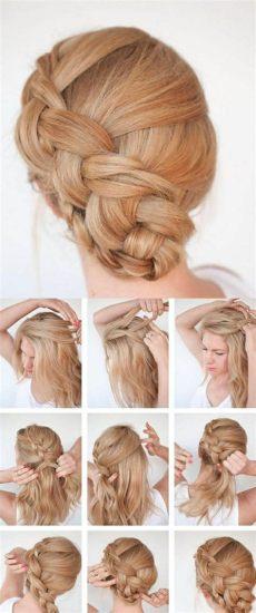 rosmarinol haare selber machen 1001 ideen wie sie effektvolle hochsteckfrisuren selber machen