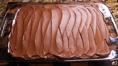 chocolate sheet cake milk chocolate ganache frosting