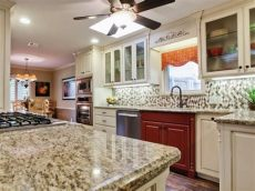 backsplash ideas for kitchens with granite countertops and white cabinets granite vs quartz is one better than the other hgtv s decorating design hgtv
