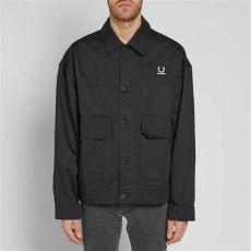 fred perry x raf simons tape detail hoodie fred perry x raf simons detail jacket black end