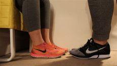 footsie nike flyknit free and racer sockless shoeplay shoe - Foosites Nike Boots