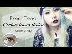freshtone contact lenses review review freshtone satin gray contact lenses
