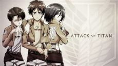 attack on titan eren and levi and mikasa attack on titan eren levi mikasa by welterz on deviantart